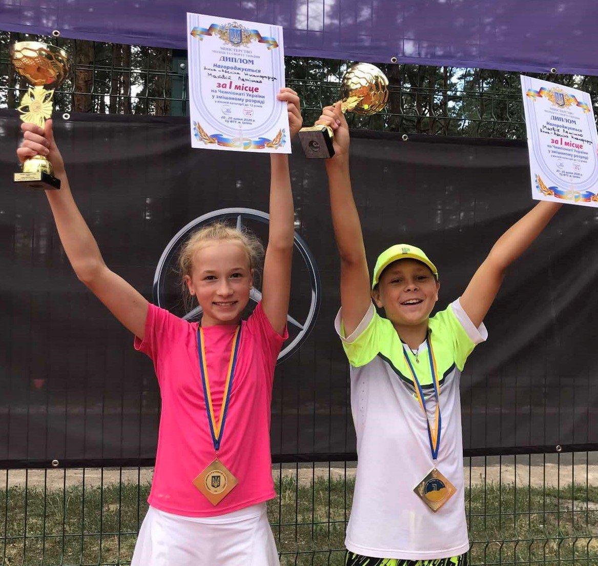 Юний тенісист із Сум успішно виступив на змаганнях в Ірпені, фото-1