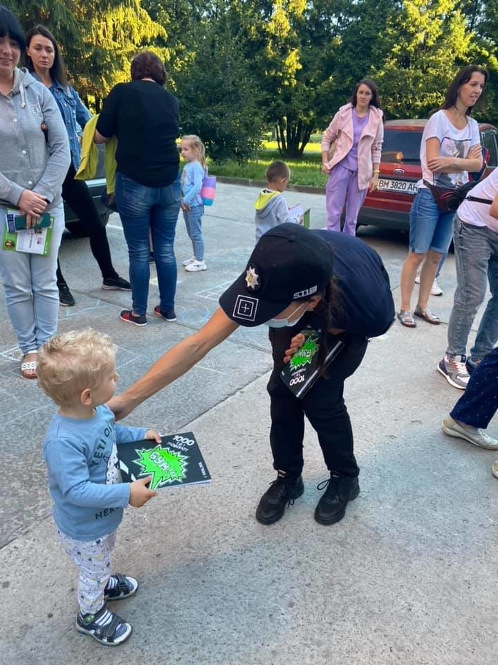 У Сумах депутати разом з патрульними провели захід для малечі «Пильне батьківство - щасливе дитинство» , фото-6