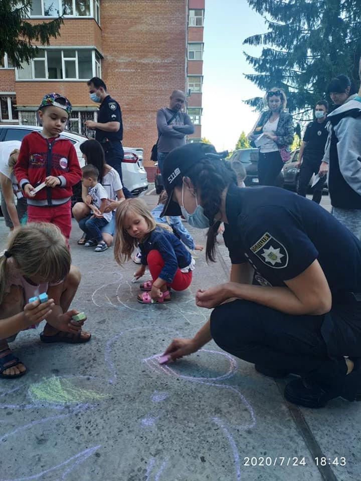 У Сумах депутати разом з патрульними провели захід для малечі «Пильне батьківство - щасливе дитинство» , фото-4