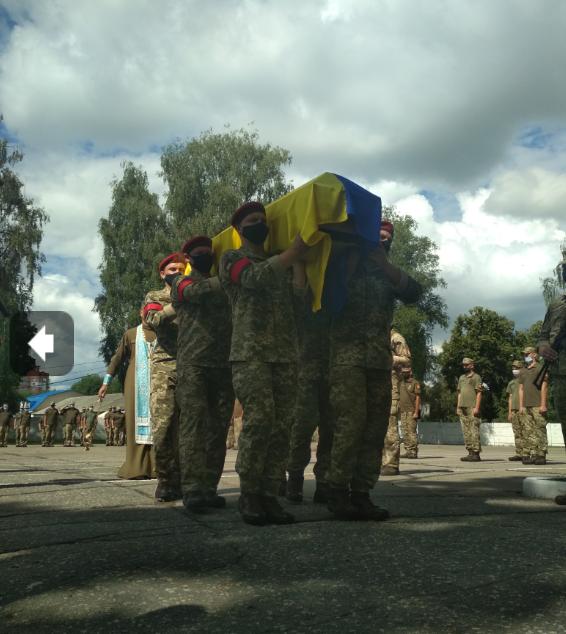 У Сумах провели в останню путь загиблого артилериста, фото-7