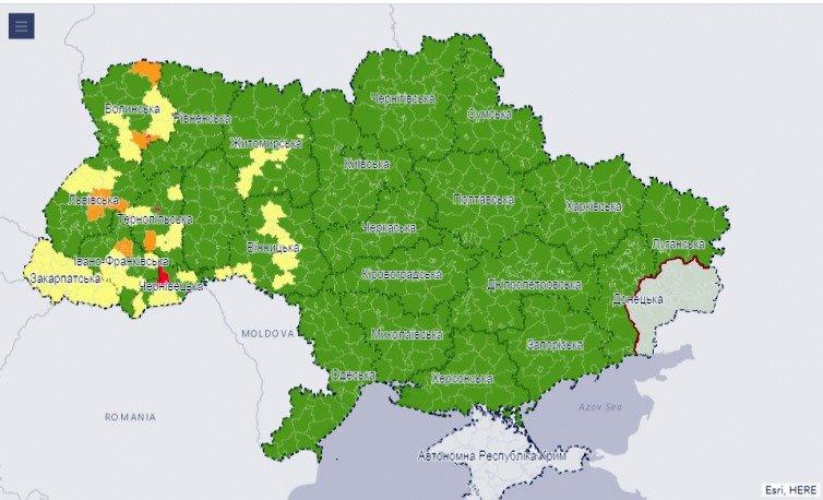 Сумщина потрапила до зеленої зони за рівнем поширення Covid-19, фото-1
