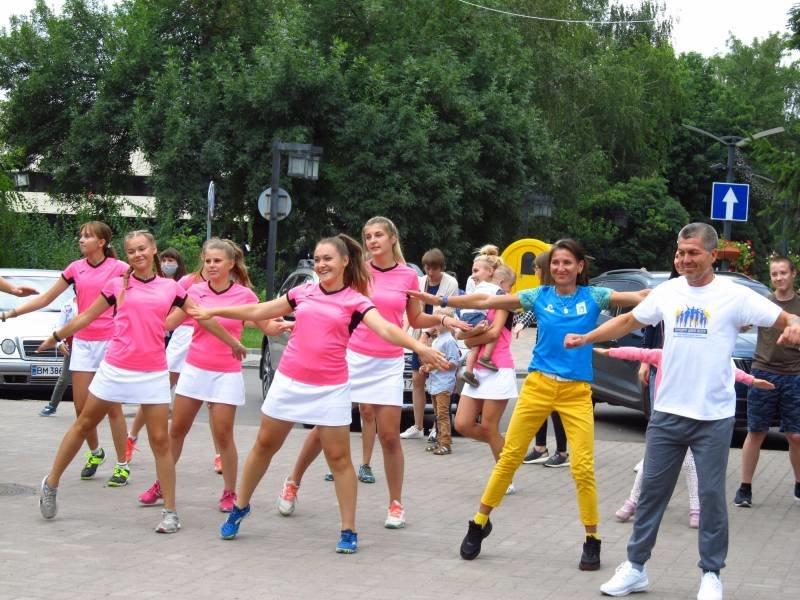 У Сумах відбувся другий спортивний захід «Не лінуйся! Рухайся!», фото-2