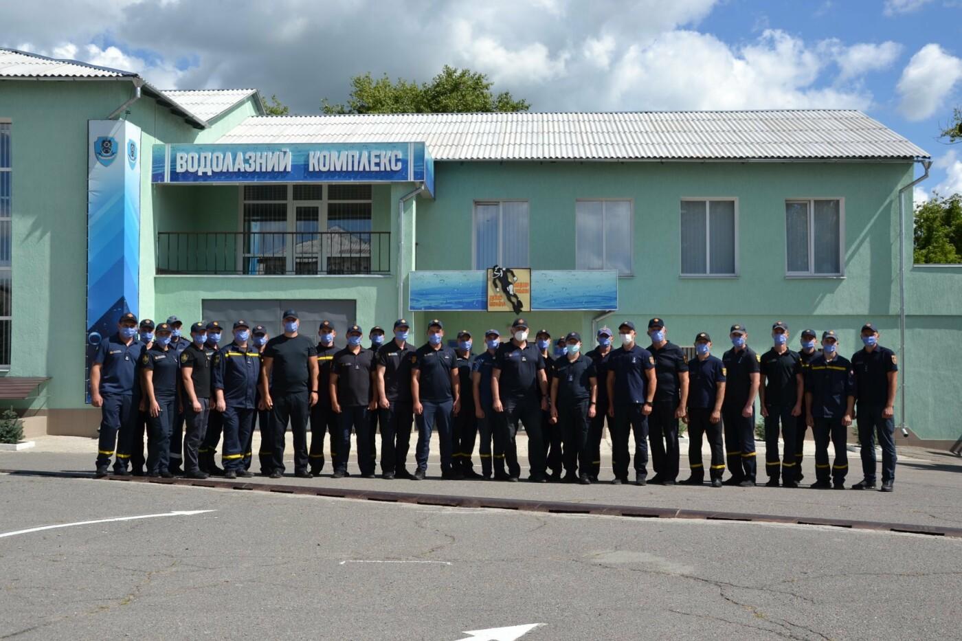 На Сумщині розпочали навчання майбутні водолази та кінологи, фото-2