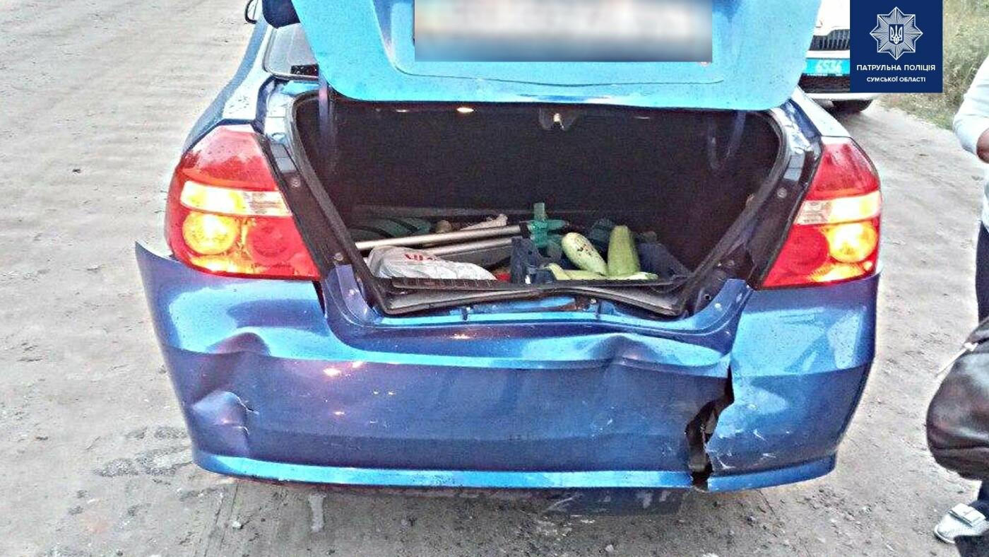 У Сумах п'яний водій вчинив ДТП, фото-1