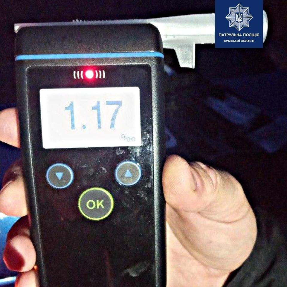 У Сумах п'яний водій вчинив ДТП, фото-3