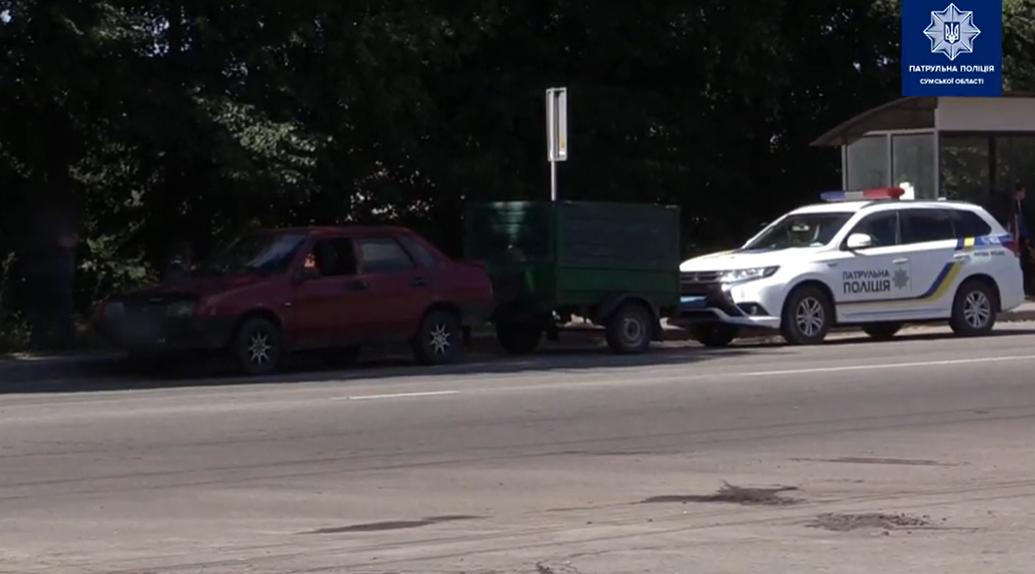 У Сумах на переході збили дівчину, фото-1