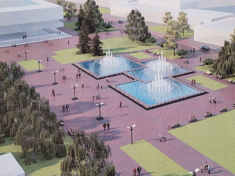 Стало відомо, як виглядатиме Театральна площа у Сумах після реконструкції, фото-1