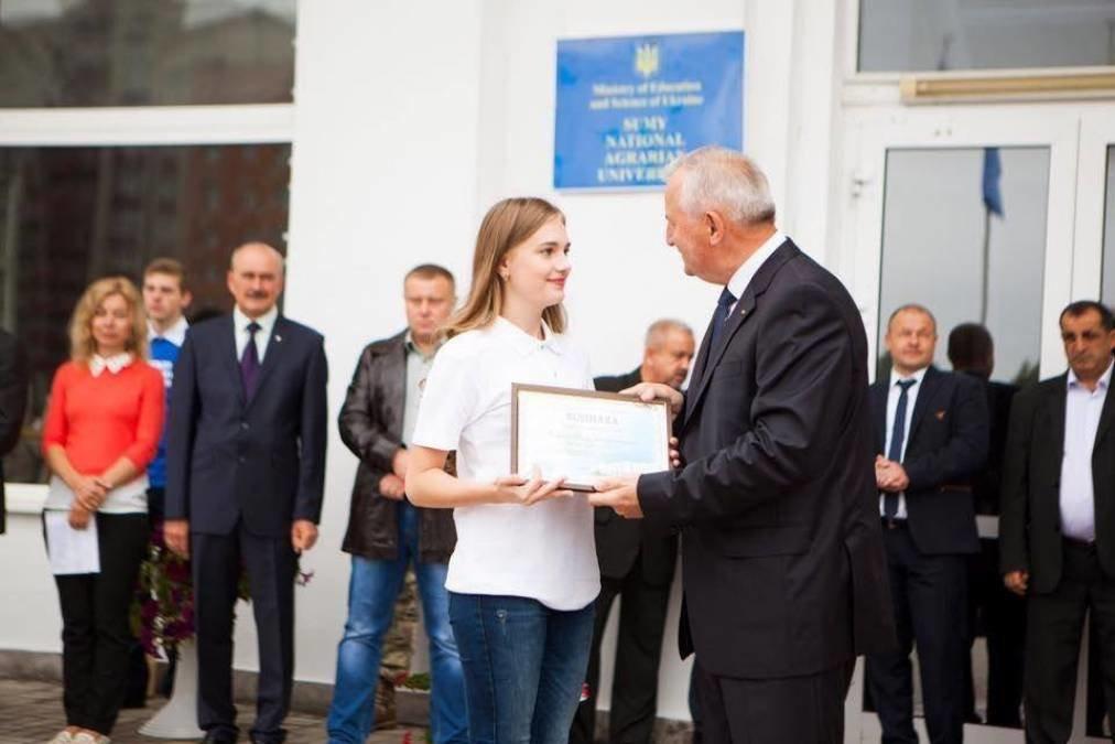 """Студентка із Сум увійшла до """"Книги рекордів освіти Сумщини"""", фото-1"""