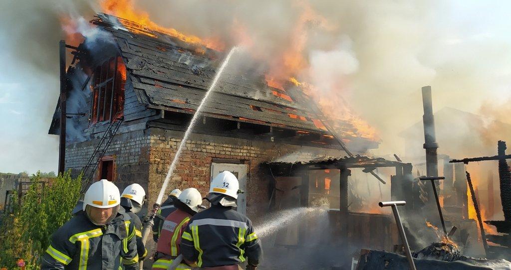 На Сумщині на пожежі постраждав чоловік, фото-2