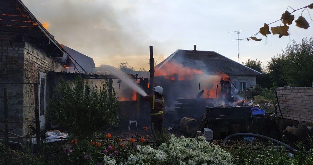 На Сумщині на пожежі постраждав чоловік, фото-3