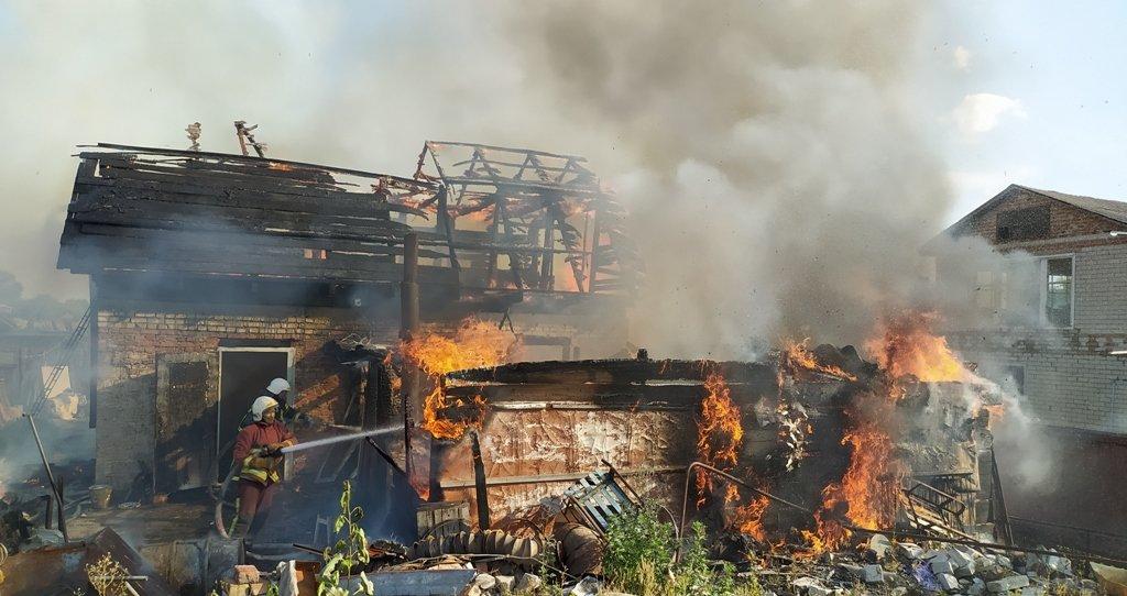 На Сумщині на пожежі постраждав чоловік, фото-5