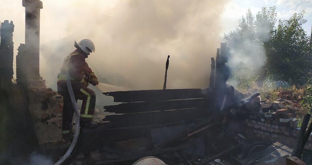 На Сумщині на пожежі постраждав чоловік, фото-4