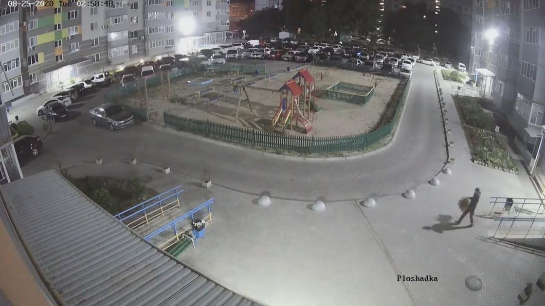 У Сумах камера відеоспостереження зафіксувала крадія квітів , фото-2