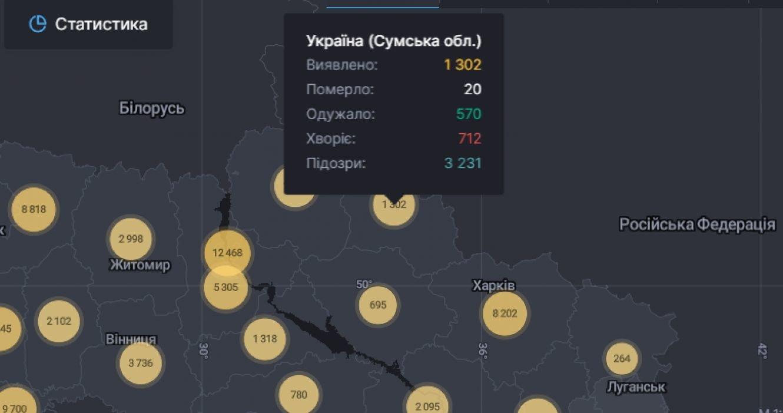 На Сумщині за минулу добу COVID-19 виявили у 33 жителів, фото-1