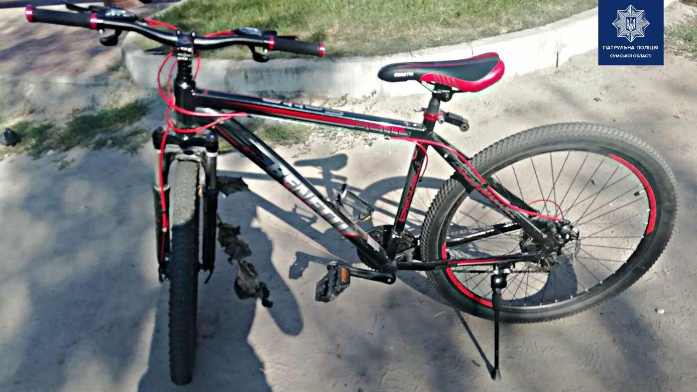 У Сумах затримали велосипедного крадія, фото-1