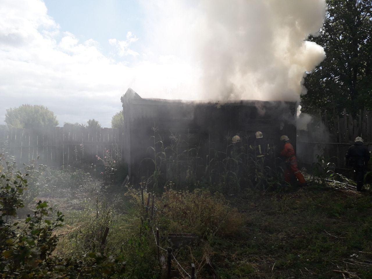 У Сумах гасили дві пожежі, фото-2