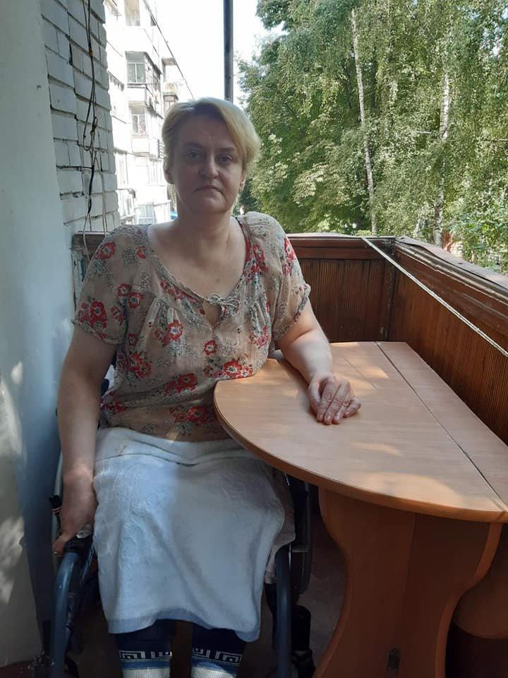 Сумчанка з інвалідністю потребує допомоги, фото-1