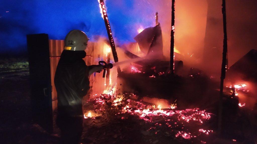 На Сумщині під час пожежі врятовано 22-річну мати, 4-місячне немовля та 4-річного хлопчика , фото-2