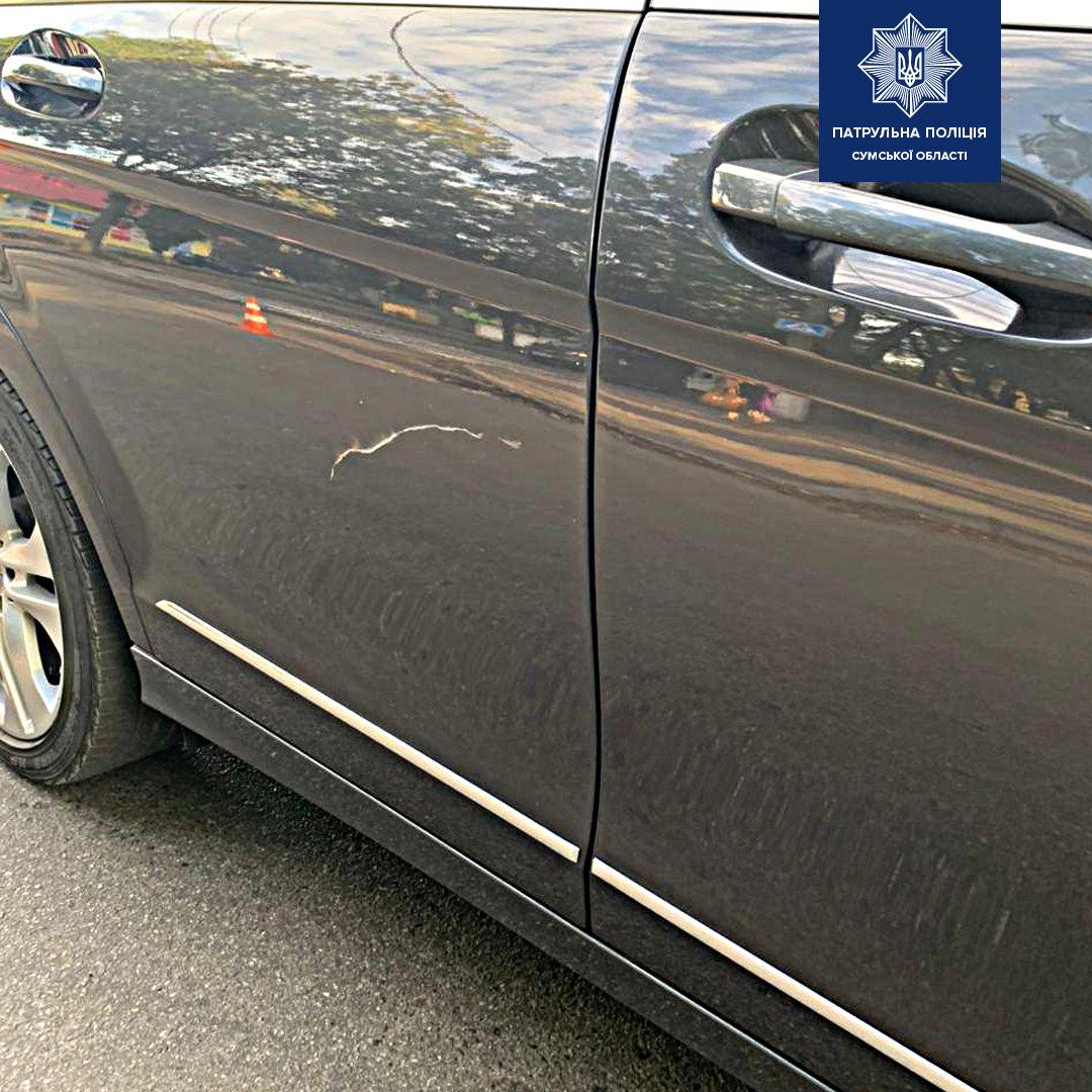 У Сумах в ДТП постраждав велосипедист: поліція просить відгукнутися очевидців