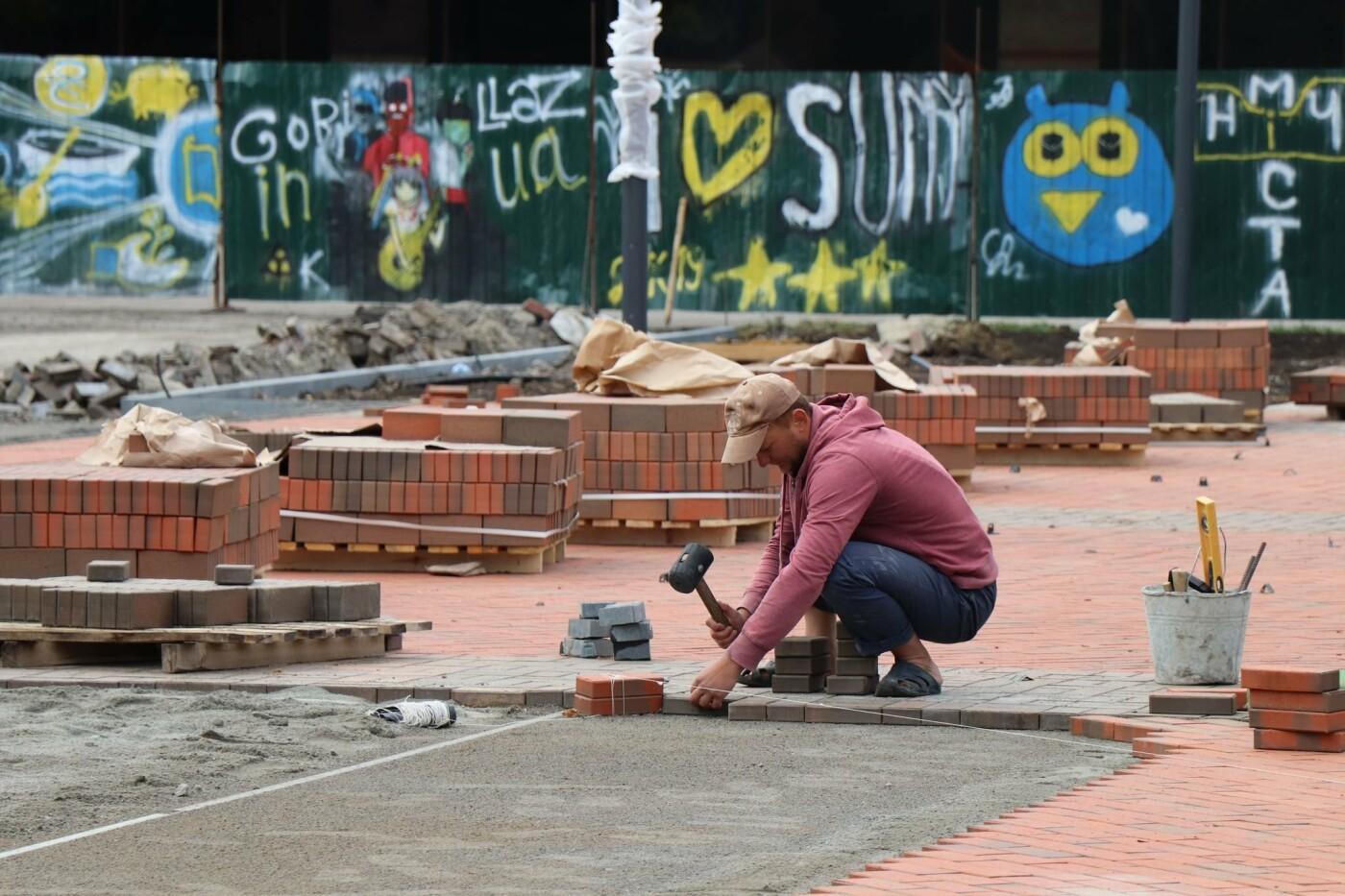 Олександр Лисенко: Роботи з реконструкції Театральної площі тримаю на особистому контролі, фото-5