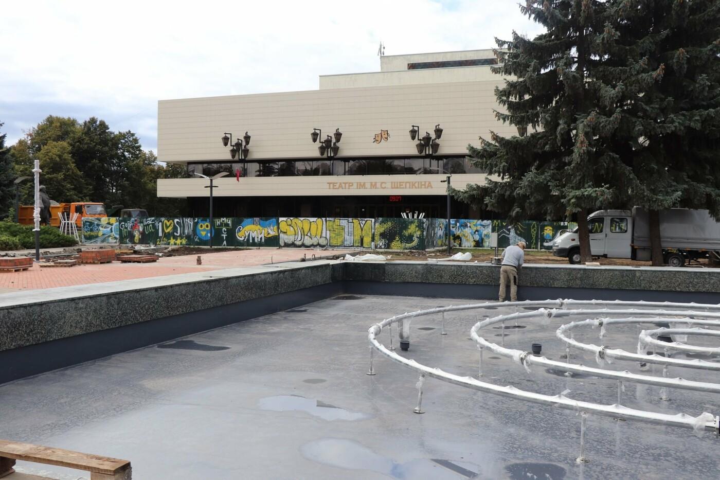 Олександр Лисенко: Роботи з реконструкції Театральної площі тримаю на особистому контролі, фото-4