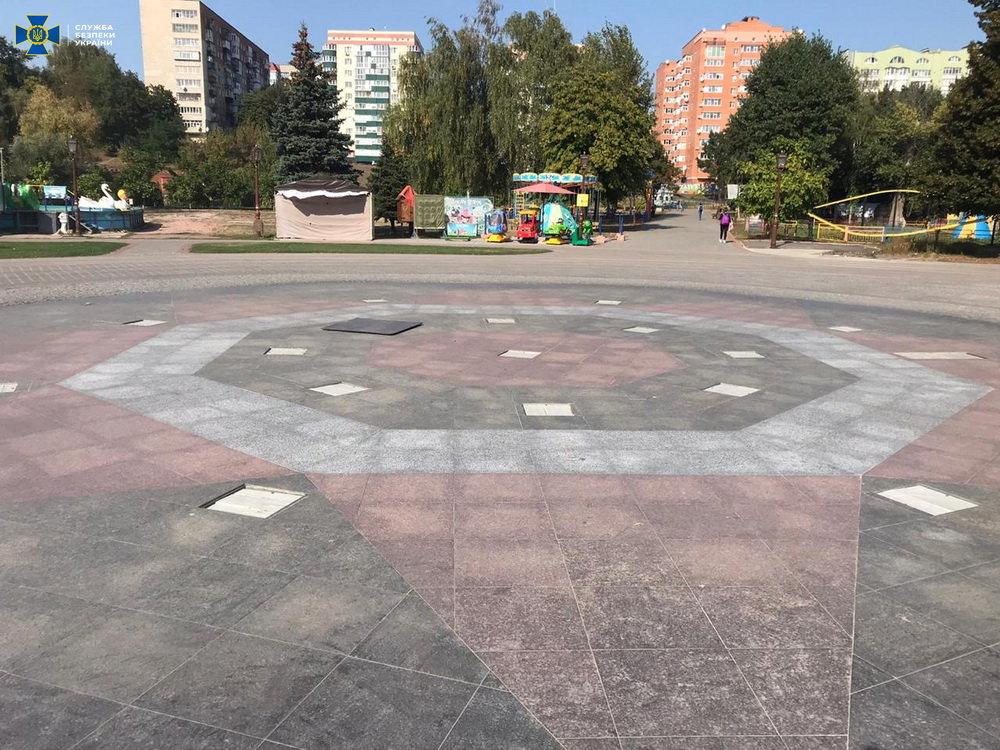 У Сумах СБУ викрила розкрадання коштів, виділених на реконструкцію дитячого парку, фото-1