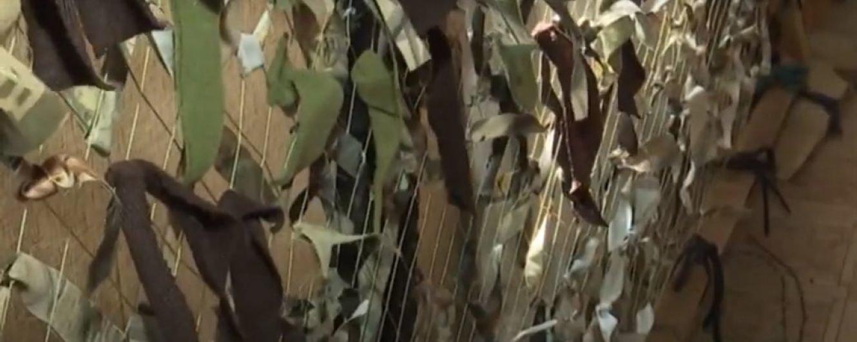 Понад тисячу маскувальних сіток та костюмів сплели та відправили військовим сумські волонтери, фото-1