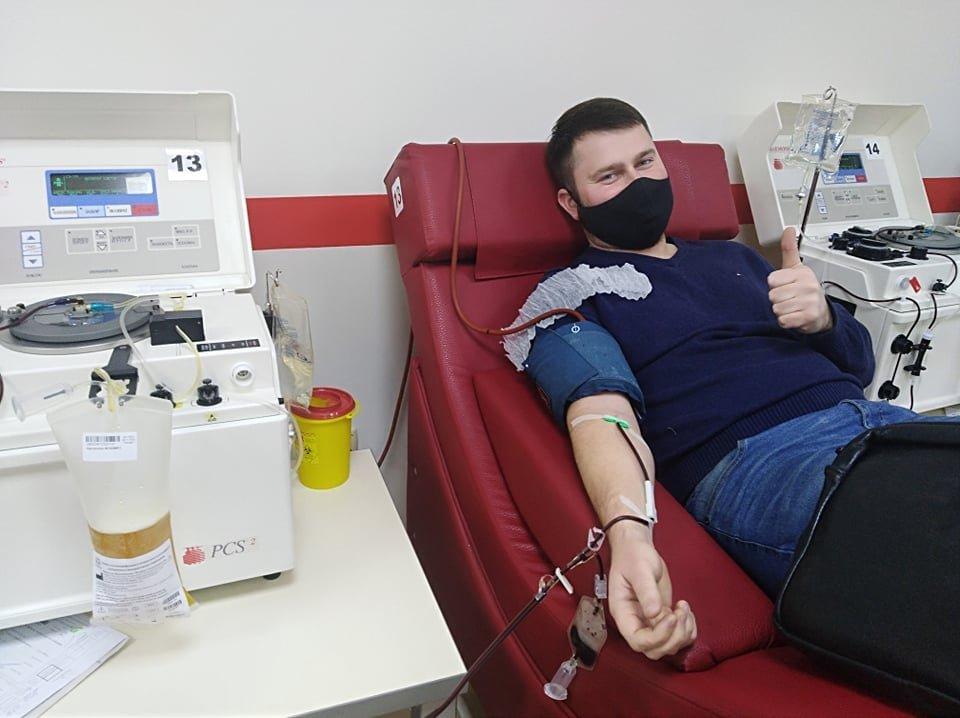 Керівник сайту 0542.ua став донором, фото-1