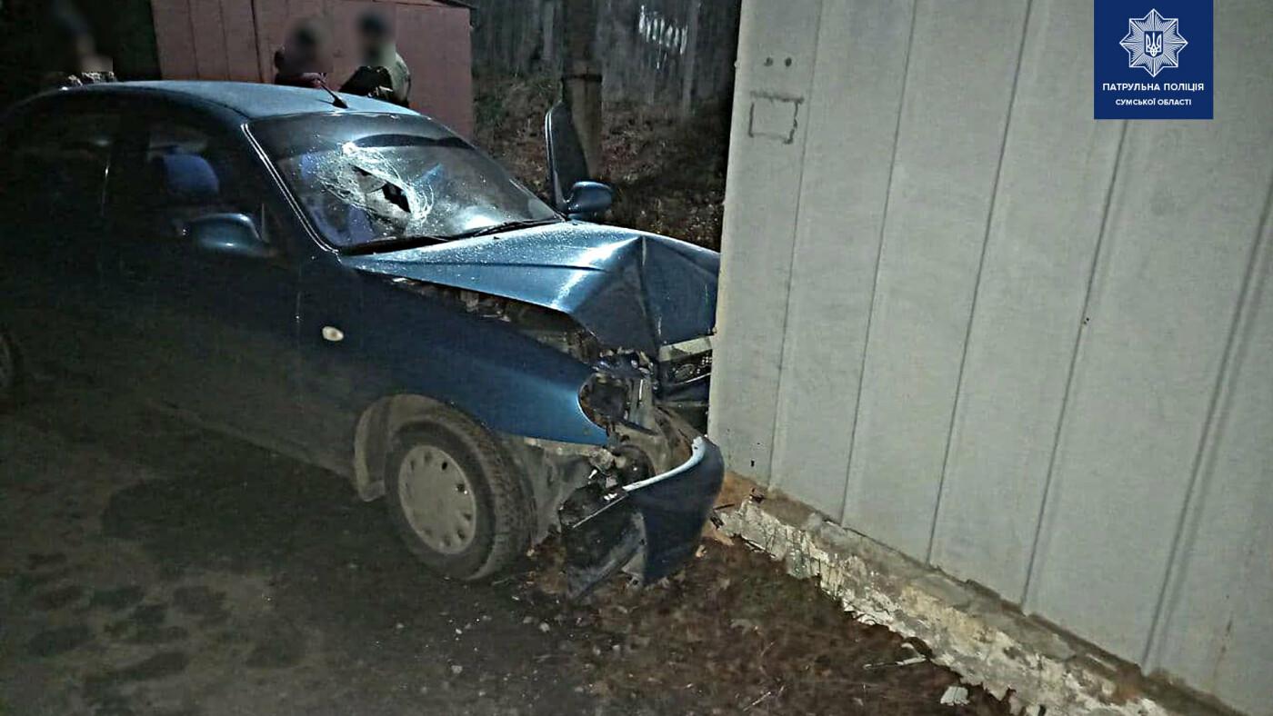 У гаражному кооперативі Сум сталася ДТП з постраждалими, фото-2
