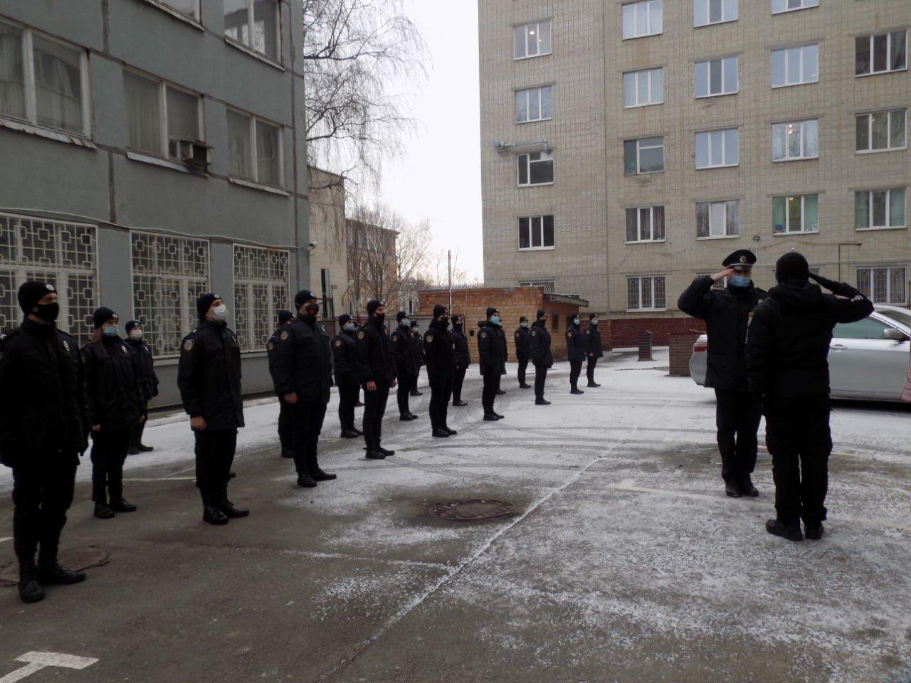 Курсанти університету внутрішніх справ приступили до проходження практики в підрозділах поліції Сумщини , фото-1