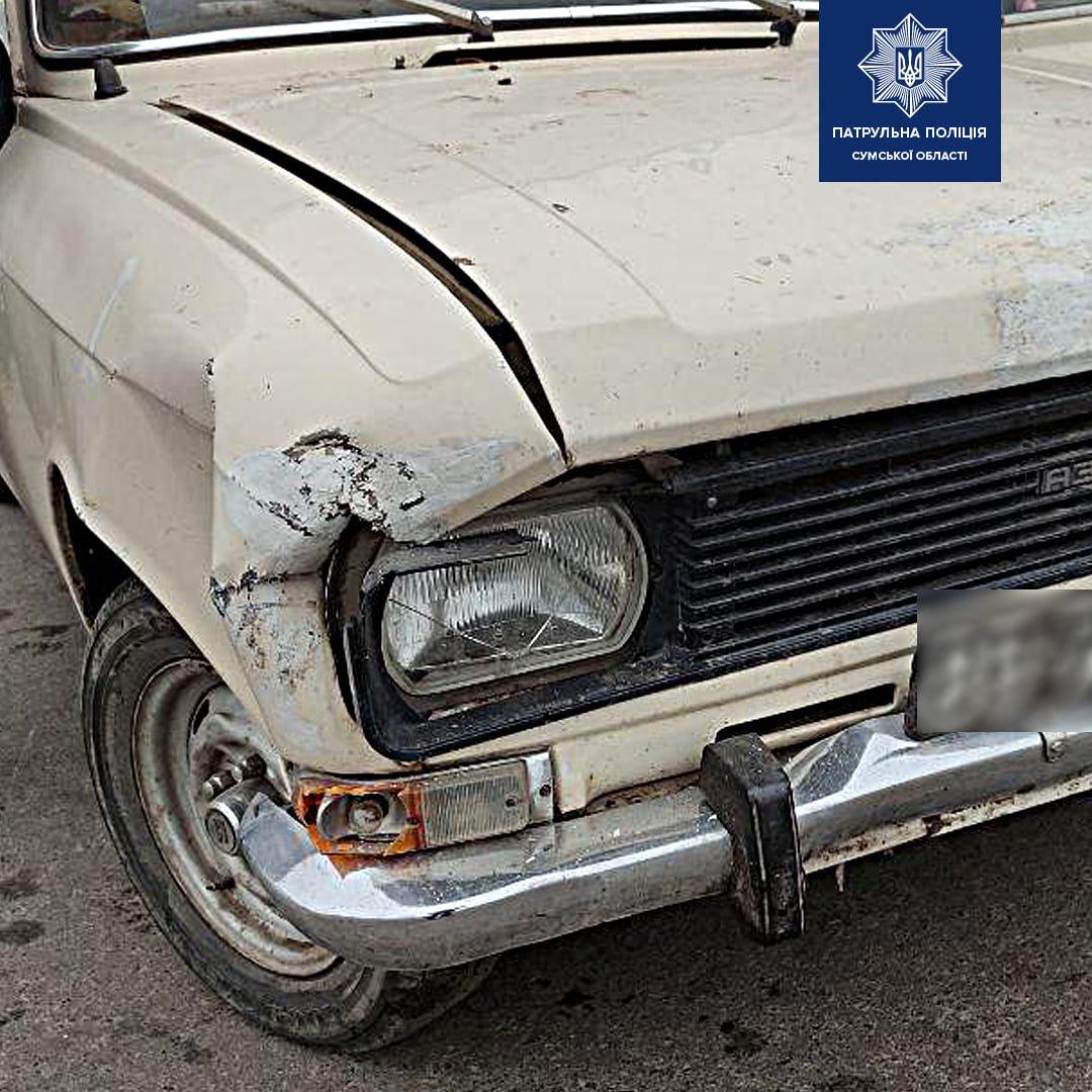 ДТП: у Сумах зіткнулися АЗЛК та Mercedes-Benz, фото-2