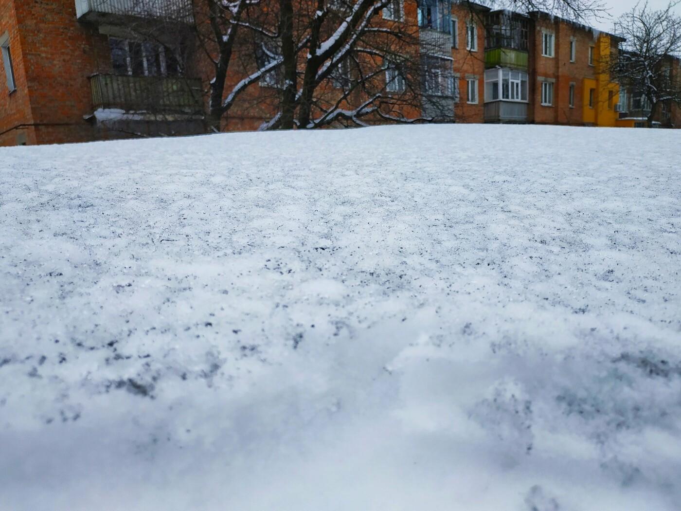 У Сумах біля ТЕЦ випав чорний сніг, фото-1