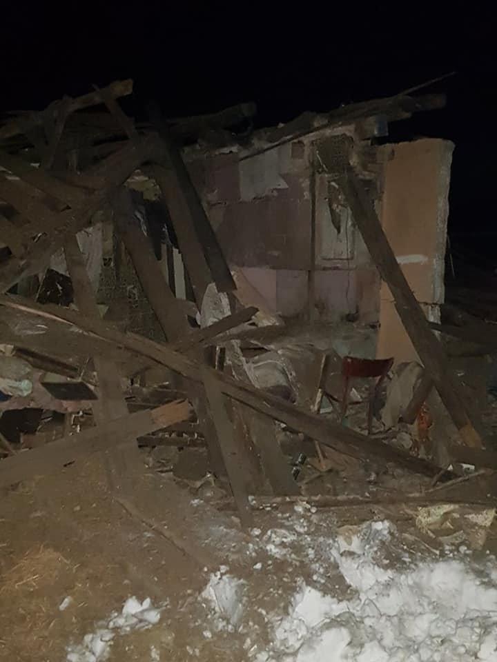 На Сумщині вибухнув будинок, фото-1