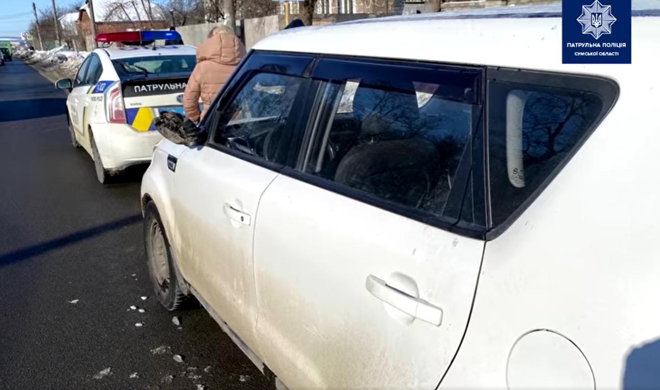 У Сумах розшукали водія, який вчинив та залишив місце ДТП, фото-2
