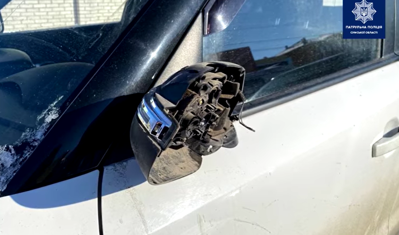 У Сумах розшукали водія, який вчинив та залишив місце ДТП, фото-1