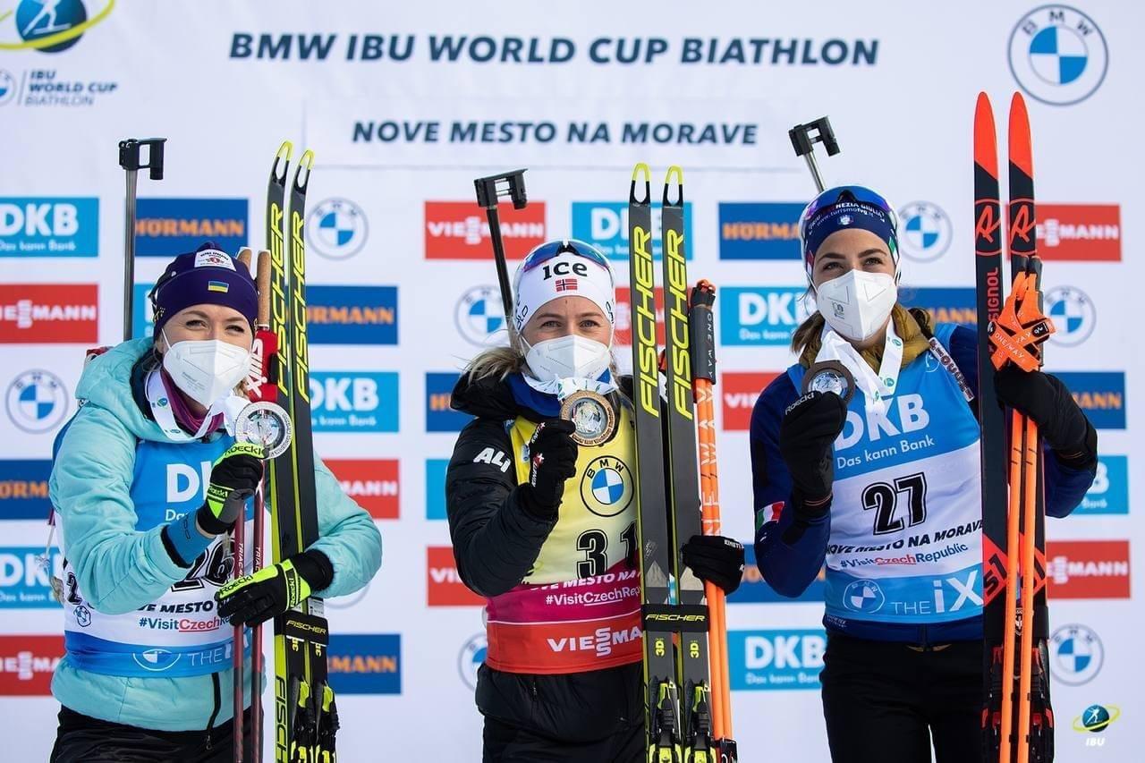 Юлія Джима – срібна призерка спринтерської гонки на етапі Кубка світу з біатлону, фото-1