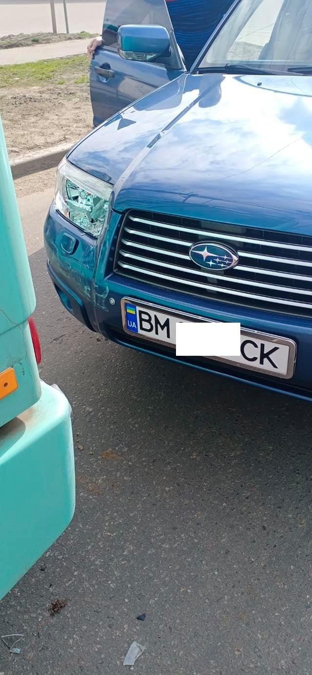 У Сумах ще один новий тролейбус потрапив у ДТП, фото-2
