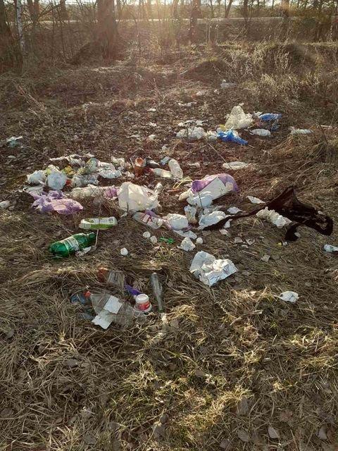 Село на Сумщині перетворили на сміттєзвалище, фото-3