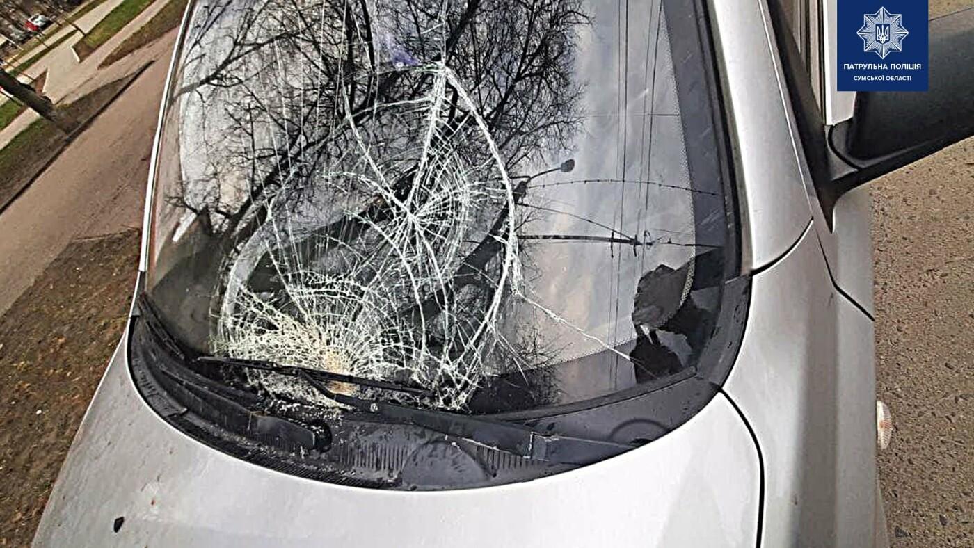 На пр. Шевченка у Сумах на переході збили двох жінок, фото-1