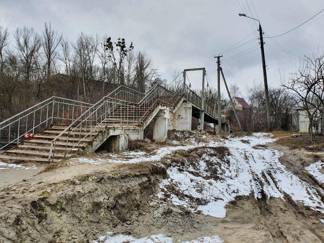 """ТОВ """"Сумимостобуд"""" виконує реконструкцію пішохідного мосту, фото-1"""