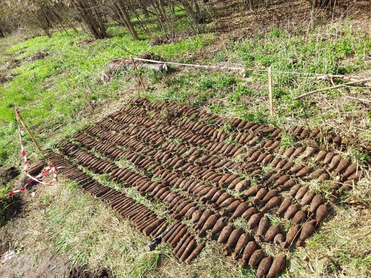 За минулий тиждень на Сумщині знешкоджено 215 застарілих боєприпасів, фото-1