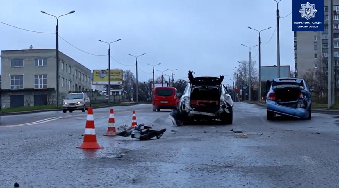 Стали відомі подробиці потрійної ДТП на Прокоф'євському мосту, фото-2
