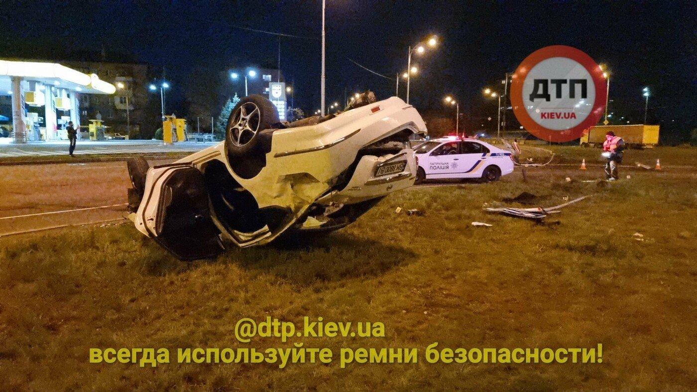 Мати померла на місці, донька в реанімації: подробиці ДТП у Києві за участю авто з сумськими номерами