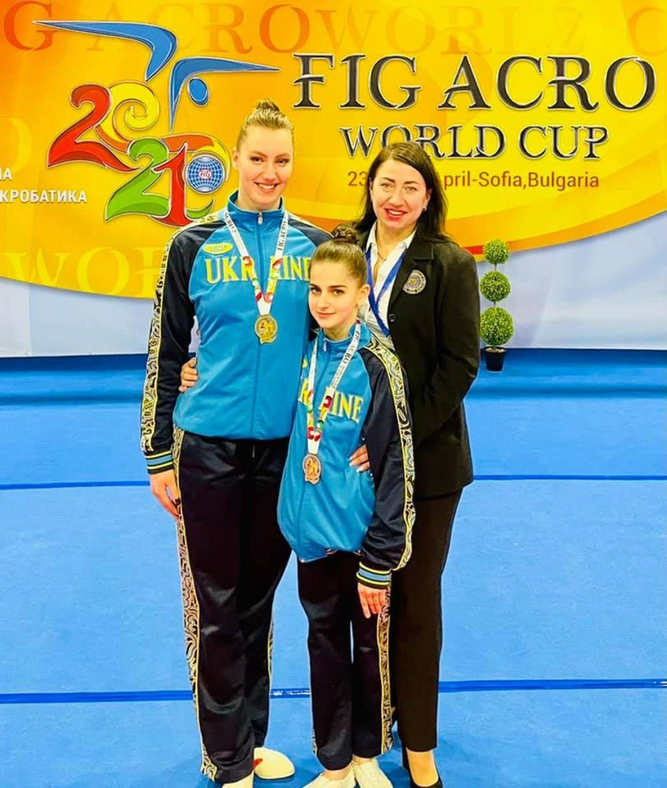 Сумчанка здобула «золото» кубку світу зі спортивної акробатики, фото-1