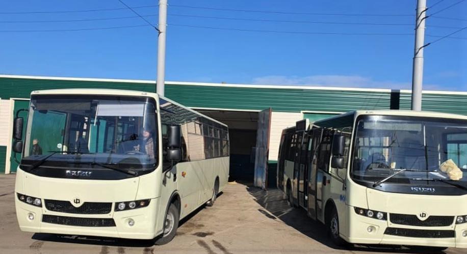 У Сумах 2 нові автобуси «Атаман» поповнили парк КП «Електроавтотранс», фото-1