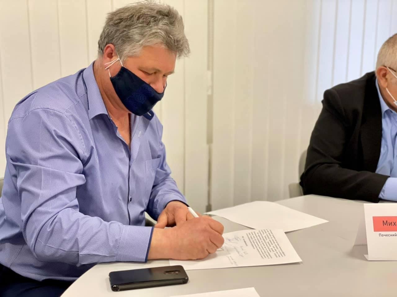 «Ні продажу української землі»: аграрії, фермери, землевласники Сумщини та депутати підписали резолюцію , фото-9
