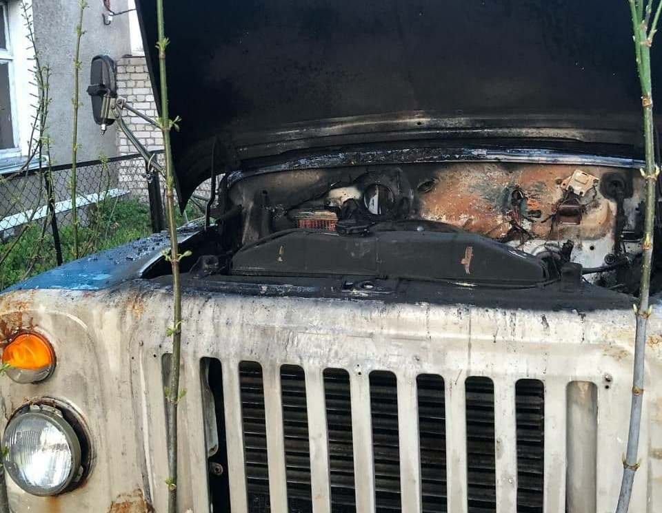 На Сумщині рятувальники ліквідували загорання вантажного автомобіля, фото-2