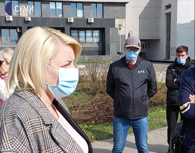 Сесію Сумської міськради скасували, бо у мера підозра на COVID-19, фото-1