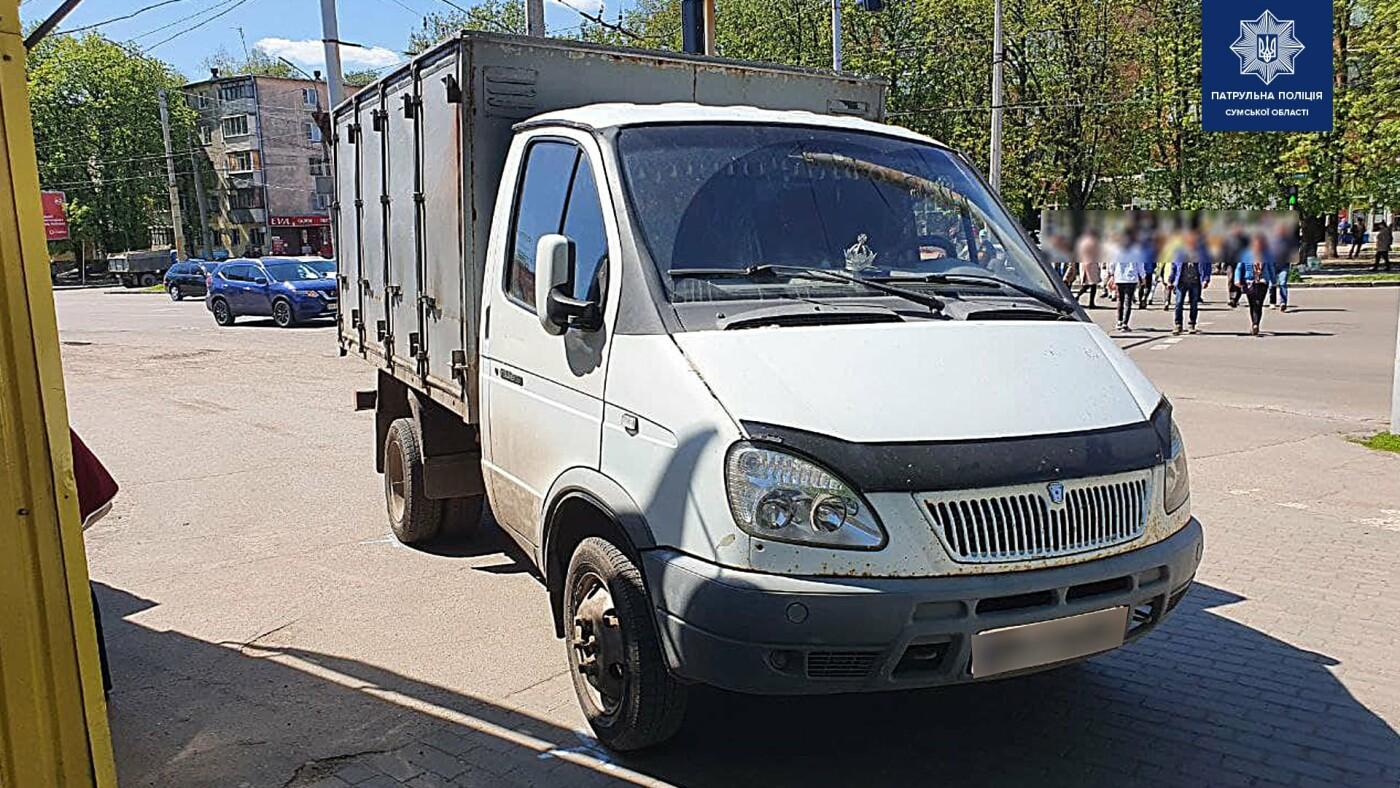 У Сумах на Горького на тротуарі збили літню жінку, фото-2