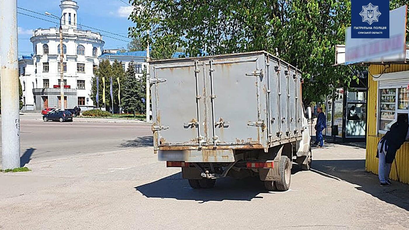 У Сумах на Горького на тротуарі збили літню жінку, фото-1
